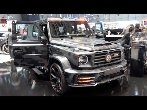 Mansory X Philipp Plein Mercedes Amg G63 Star Trooper With