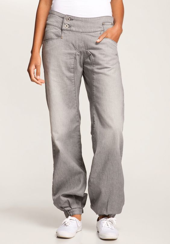 NIKITA Reality Jeans A II greydenim, Anti Fit Jeans,