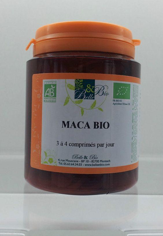 Belle et Bio maca biologique x 200 comprimés tonique sexuel in Beauté, bien-être,  relaxation | eBay