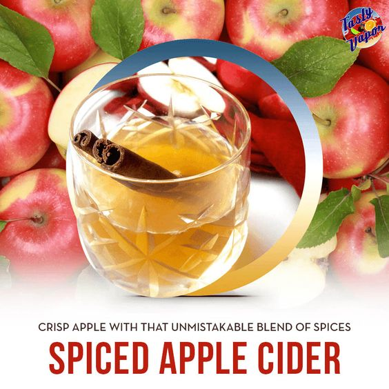 Crisp apple flavor with a blend of spices. #tastyvapor #vape #vaping #ejuice
