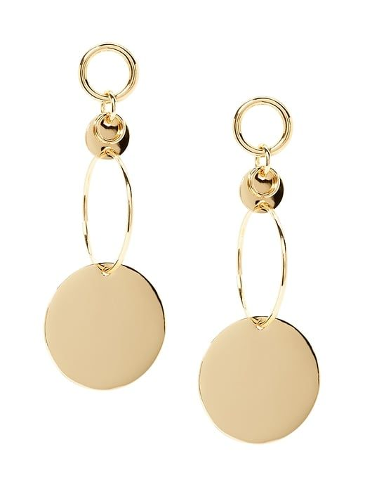 Modern Disk Statement Earring   My Jewelry Designs (MBMJ, Givenchy, Lulu  Frost, Banana Republic)   Pinterest   Products