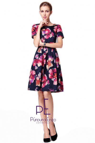 Floral Printing Dress
