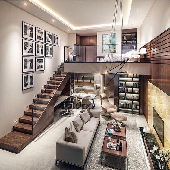 30 Awesome Loft Apartment Decorating Ideas Molitsy Blog Small