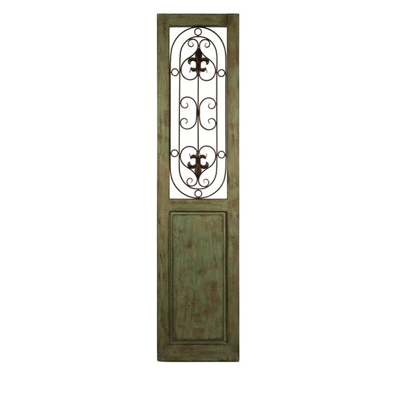 Graves Iron Door Panel -