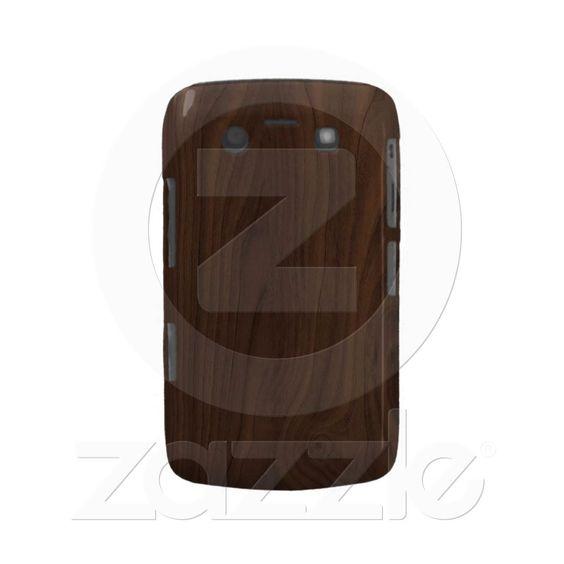 faux Wood Grain BlackBerry Bold Case $39.35