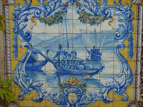 Azulejos da estação da c.p. Mondim de Bastos by trasmontesdepaisagens.blogspot.sapo.pt