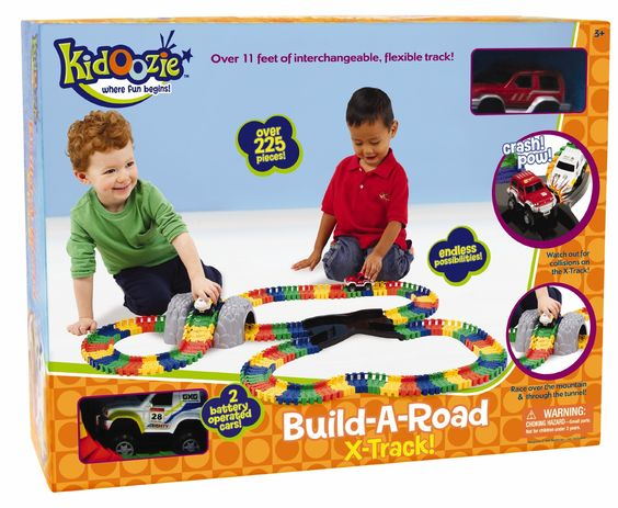 International Playthings Kidoozie Build-A-Road X-Track from DLT's TOYLAND