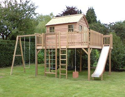 The Children's Cottage Company - bespoke Playhouses and Treehouses
