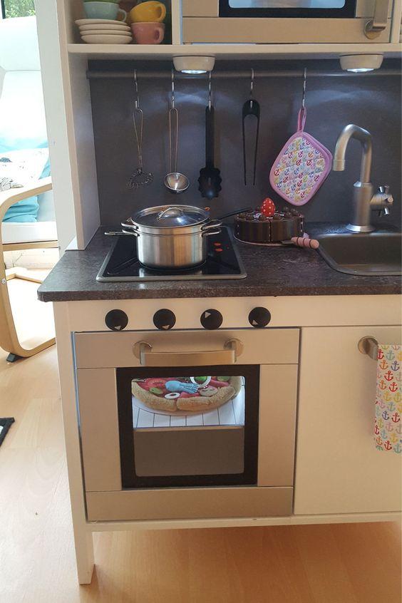 Ikea DUKTIG Spielküche Hack Decor ideas for kids room - küchen kaufen ikea