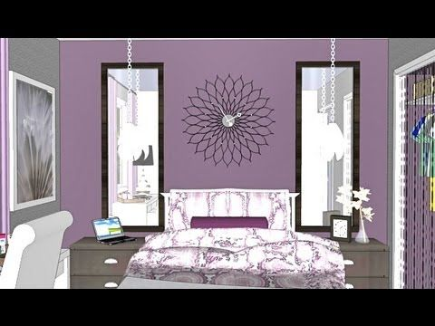 Room tour mondays and pretty bedroom on pinterest for Virtual bedroom makeover