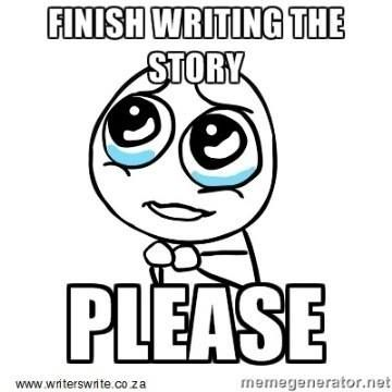 finish writing the story please: