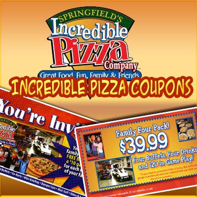 Incredible pizza springfield mo coupons