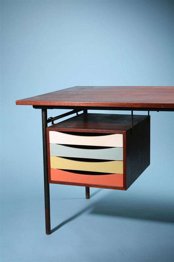 Mid-Century Danish Furniture Designer Finn Juhl ... I want this organization all over my future office.