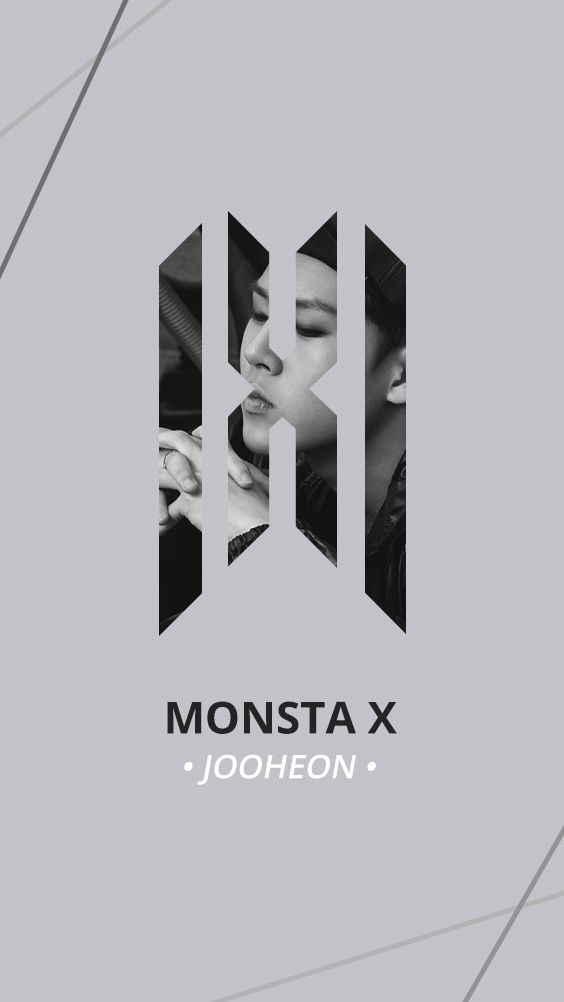 Monsta X New Official Logo Wallpaper Jooheon Selebritas