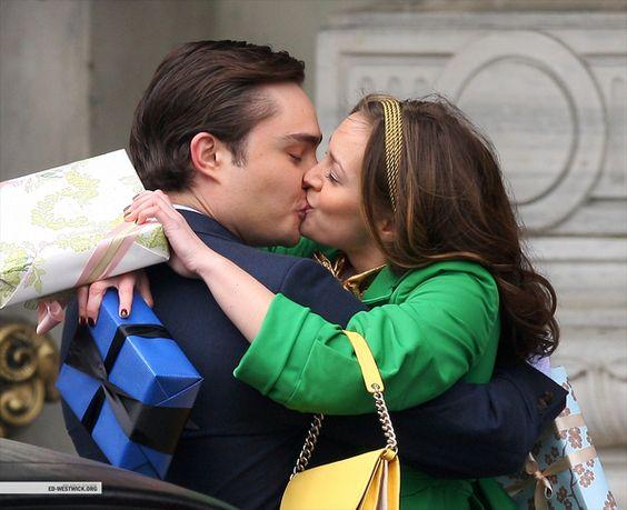 """Blair and Chuck. Season 2 Episode 25 """"The Goodbye Gossip Girl""""."""
