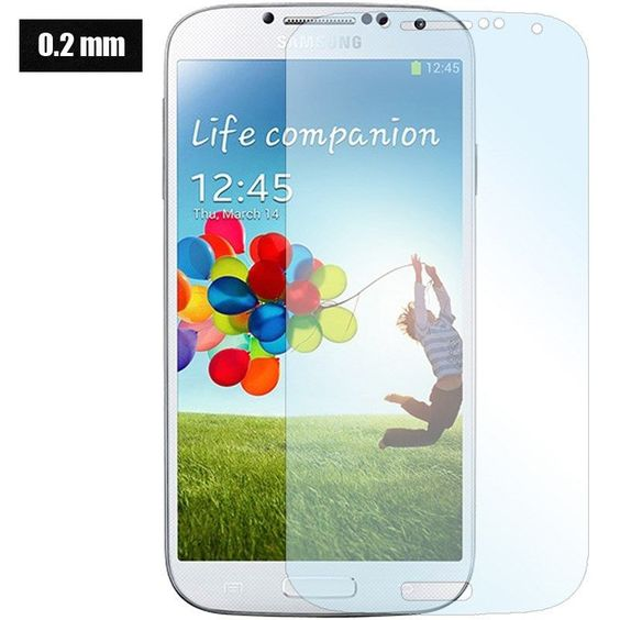 0.2mm High Quality Premium Real Tempered Glass Film Screen Protector For Samsung Galaxy S4 I9500