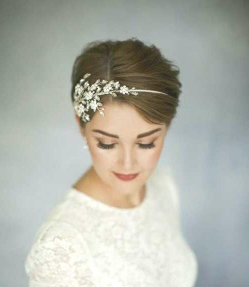 Excellent Short Hairstyles Long Hair Bride Bride Hair Hairstyle Women Hochzeitsfrisuren Hochzeitsfrisuren Kurze Haare Kurzes Brauthaar