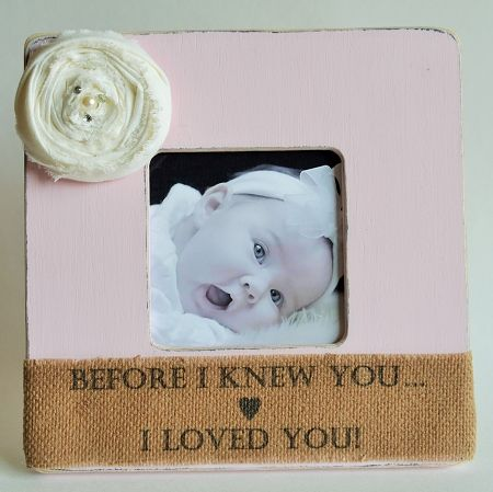 baby ultrasound picture frame baby picture frame before i knew you