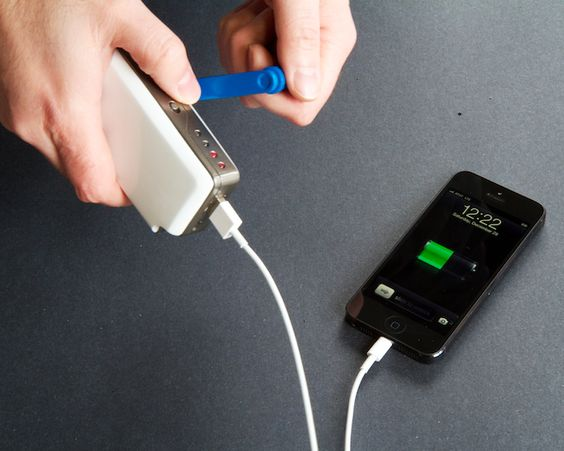Hand powered cellphone charger!