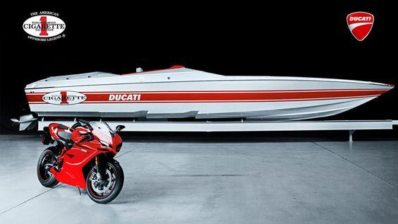 2011 Cigarette Racing 42 X Ducati Edition Racing Boat