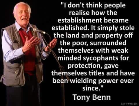 The late great Tony Benn