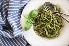 annalaurakummer, rezept, spaghetti, avocado, spinat, pasta, nudeln, gesund, vegan