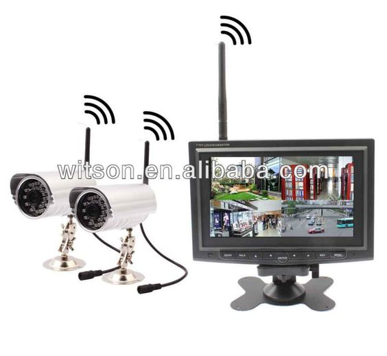 wireless security products and security camera on pinterest. Black Bedroom Furniture Sets. Home Design Ideas