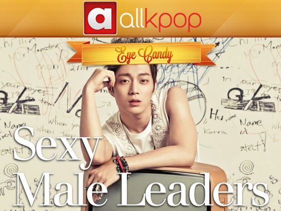 Eye Candy: Sexy Male Leaders kpop