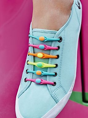 Hickies Rubber Ties Elastic Band Shoelaces Laces For