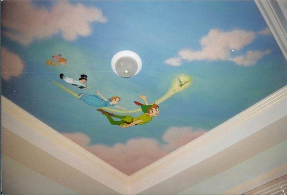 Gran idea para el techo. #IdeasenOrden #closets #decoracion #kids