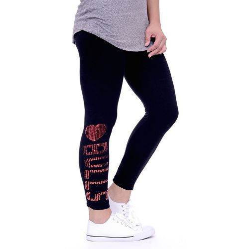 Chicago Bulls Sequin Leggings - Women's #chicago #bulls #chicagobulls #leggings #sportsapparel #tailgate #womesclothes   Link To This: http://www.kohls.com/product/prd-2252653/chicago-bulls-sequin-leggings-womens.jsp