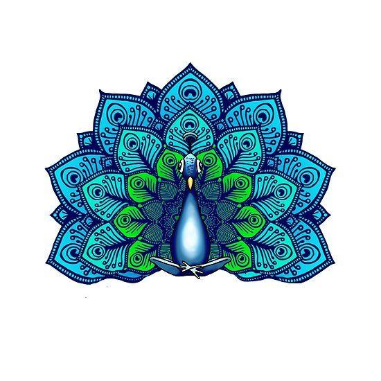Boho Zen Peacock Meditating | Spirit animal, Peacock, Art