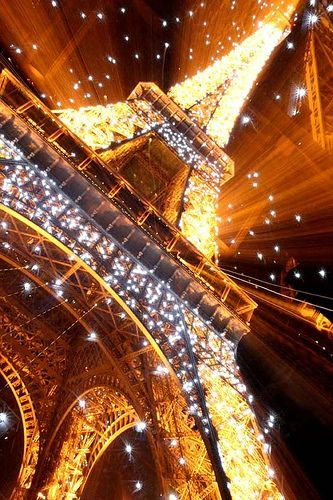 Gorgeous shot of the Eiffel
