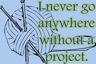 Nunca voy a ningún sitio sin un proyecto