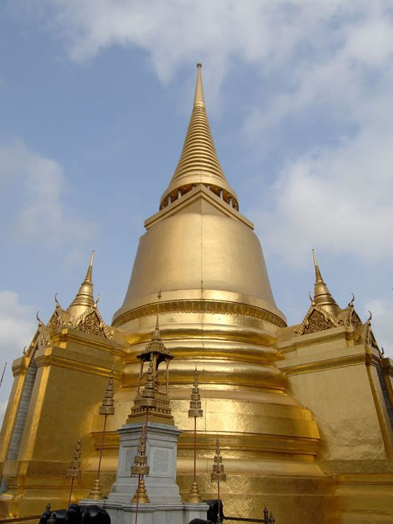 1782年にバンコクに都をうつしたことで作られたワットプラケオです。