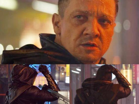 Hawkeye/Ronin in Avengers: Endgame trailer