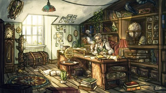 Horatio Cloudfoot's Study by Lizziefij.deviantart.com on @DeviantArt