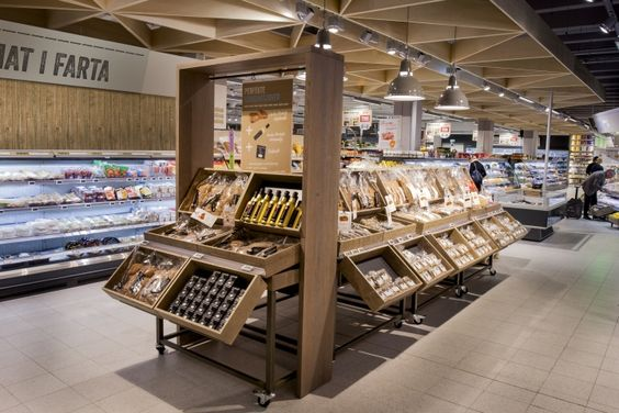 supermarkets » Retail Design Blog Amalia; curiosa forma de distribuir los productos