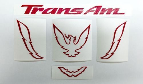 Product Trans Am Rear Panel Overlay Decal 93 02 Trans Am Trans Am Custom Decals Overlays