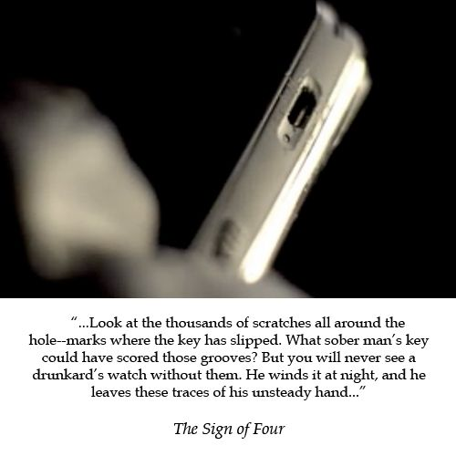 Another classy way the show has been updated from the original story.   # Pinterest++ for iPad #
