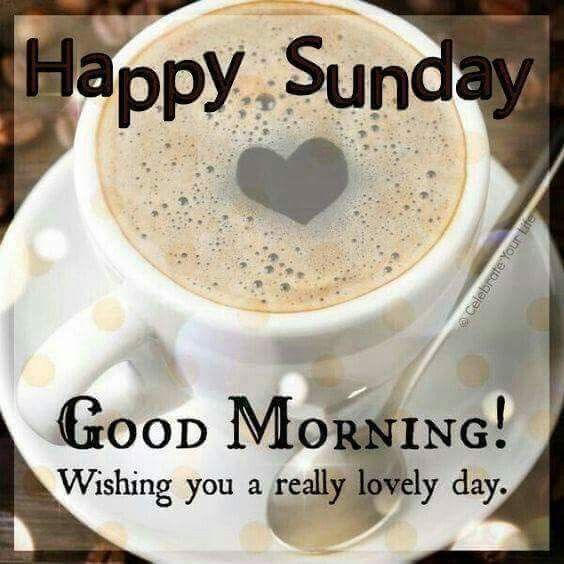 Pin By My Info On Days Of The Week Happy Sunday Morning Good