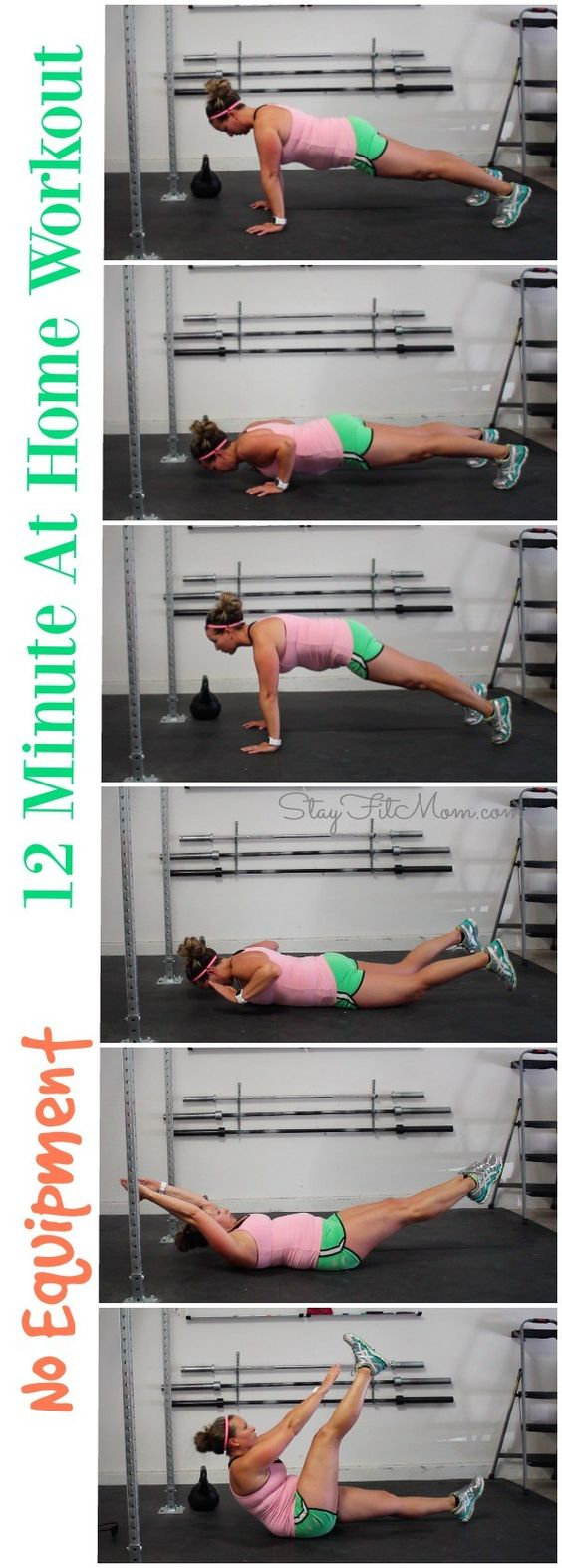 12 Minute At Home Workout – Stay Fit Mom