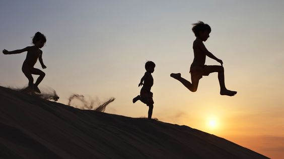 hd wallpaper kids running: