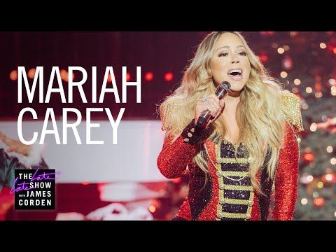 Mariah Carey All I Want For Christmas Is You Youtube Actuacion Disco