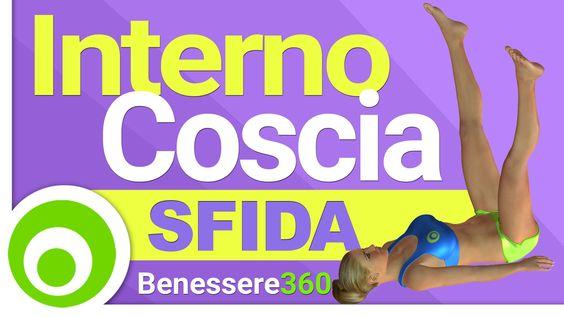 Sfida Interno Coscia. Esercizi per Dimagrire l'Interno Coscia