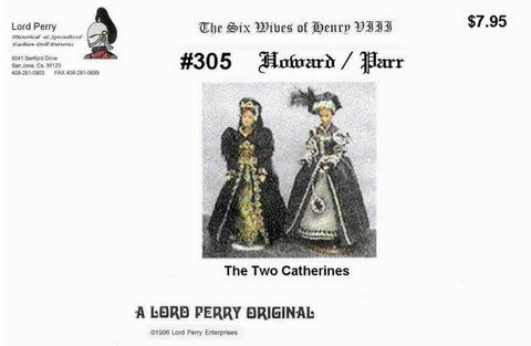 Free Copy of Pattern - 0305 The Six Wives of Henry VIII
