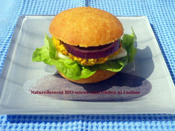 Petit Pain Brioché au Burger Végétal n°2 Sans oeuf sans gluten ni lactose
