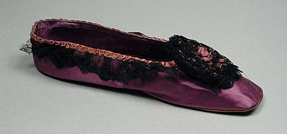 Shoe, 1860's