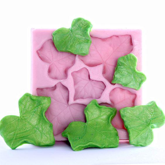 Ivy leaf candy/sugar art mold