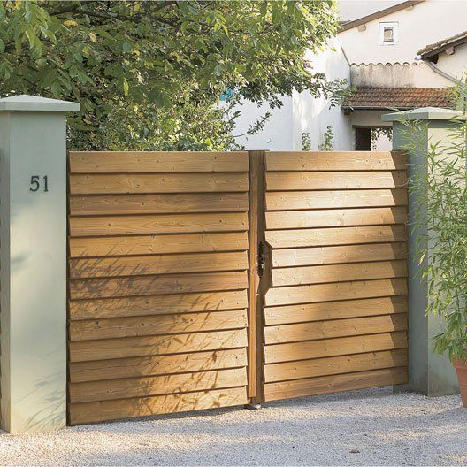 Pinterest le catalogue d 39 id es for Porte en bois jardin